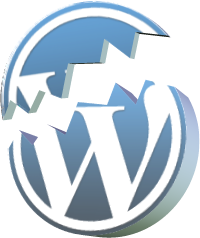 WordPress-broken